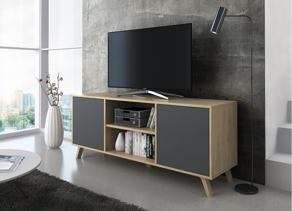 Móvel Tv Estilo Nórdico 140cm - Disponível em 4 cores