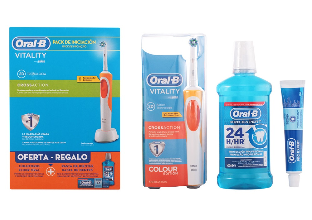 Conjunto Oral-B Vitality Cross Action Saúde