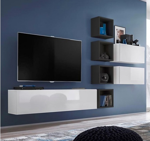 Móveis de Sala Cram - disponíveis em 4 cores