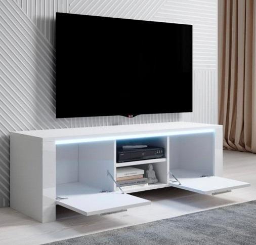 Móvel de Tv Eden com Luz LED - Disponível em 2 cores