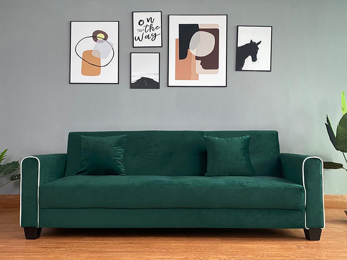 Sofá-Cama Soft Click Clack- Disponível em 3 cores