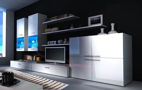 Móveis de Sala Beta - Disponíveis em 2 cores