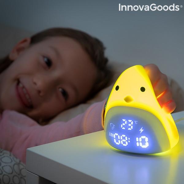 Despertador LED Táctil Silicone