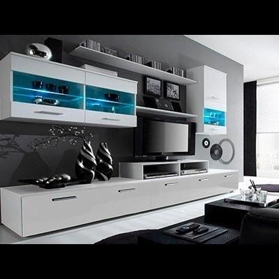 Móveis de Sala Alfa - Disponíveis em 2 cores