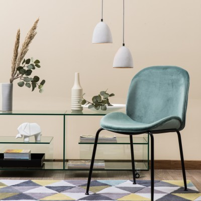 Cadeira de Refeição Veludo - 3 cores disponíveis