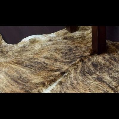 Tapete/Tapeçaria Pele de Vaca Natural - 3 cores e 3 medidas