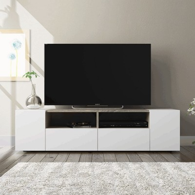 Móvel de Tv 4 Portas estilo Nórdico