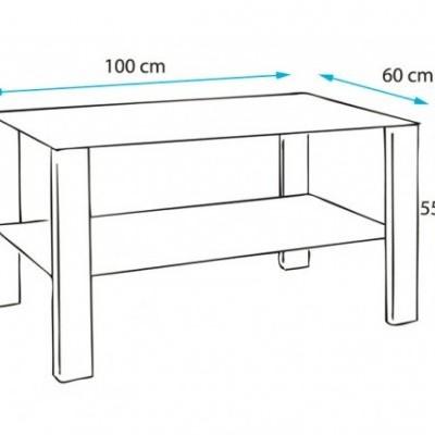 Mesa de Centro ou de Apoio Cart - 4 cores disponíveis
