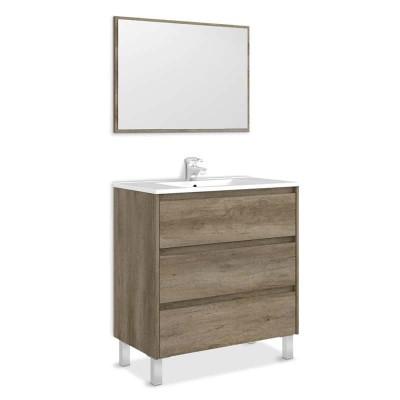 Móvel de Casa de Banho com Espelho incluído