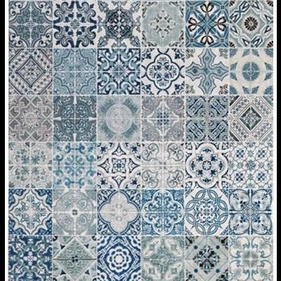 Tapete/Tapeçaria Azulejos - 4 medidas e 3 designs