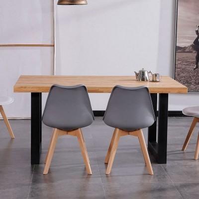 Mesa de refeição Industrial -  Disponível em 2 cores
