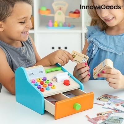 Caixa Registadora em Madeira - Método de aprendizagem Montessori