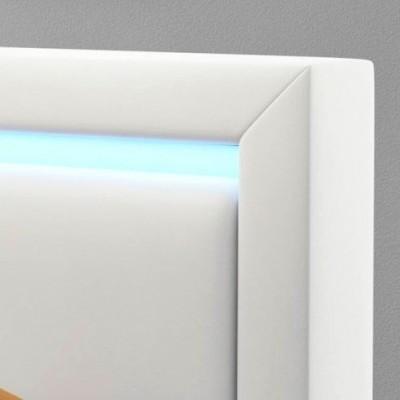 Cama de Casal redonda com luz LED