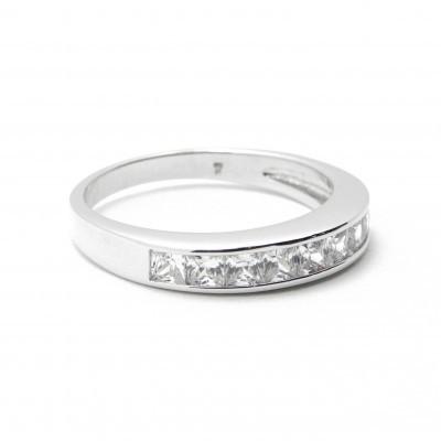 Anéis de compromisso em prata Swarovski® - Vários modelos