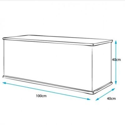 Arca/Baú de Arrumação - Disponível em 3 cores