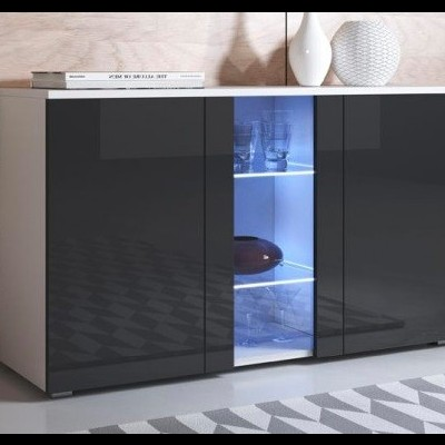 Aparador Koi com Luz de presença LED - Disponível em 4 cores