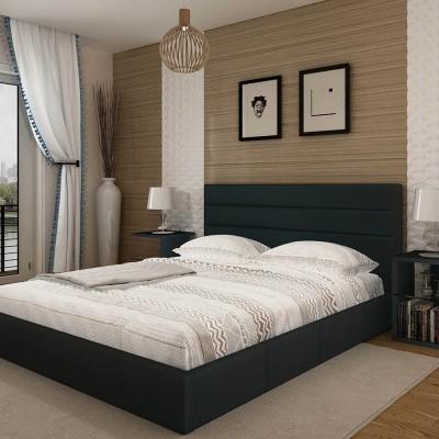 Cama de Casal Confort com estrado elevatório e cabeceira de cama - Disponível em 2 cores e 2 medidas