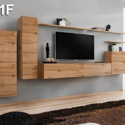 Conjunto de Móveis de Sala Baz - Disponíveis em 4 cores