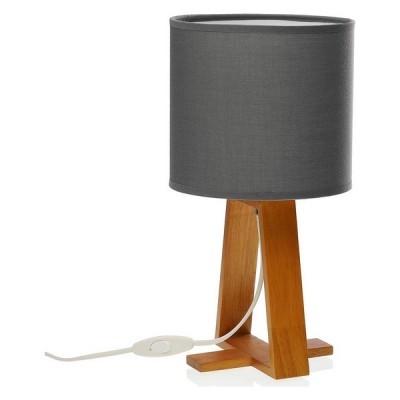 Candeeiro de Mesa em Madeira - Abajour disponível em 2 cores