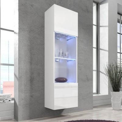Vitrine Assi com luz LED - Disponível em 4 cores