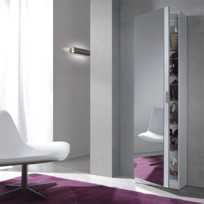 Sapateira com Espelho incluído, 3 cores disponíveis