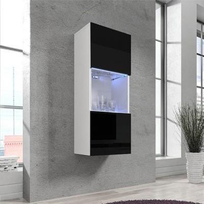 Vitrine Kol V3 com luz de presença LED - Disponível em 4 cores