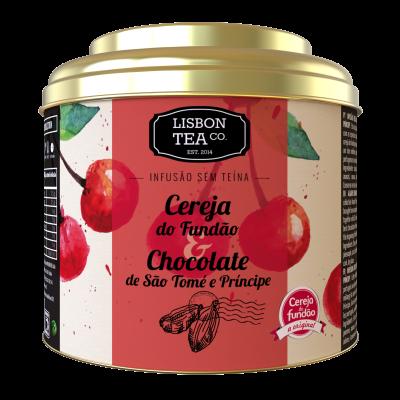 Chá  - Cereja do Fundão e chocolate de São Tomé e Príncipe
