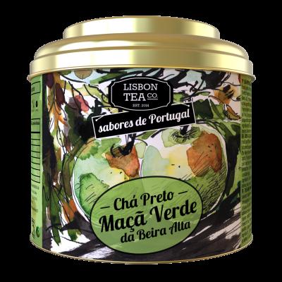 Chá Preto com Maçã da Beira Alta