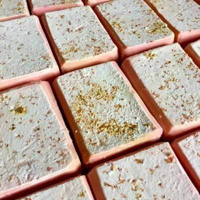 Sabão de Azeite - Artesanal: Rosas (1 un.)