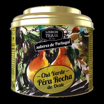Chá Verde com Pêra Rocha do Oeste