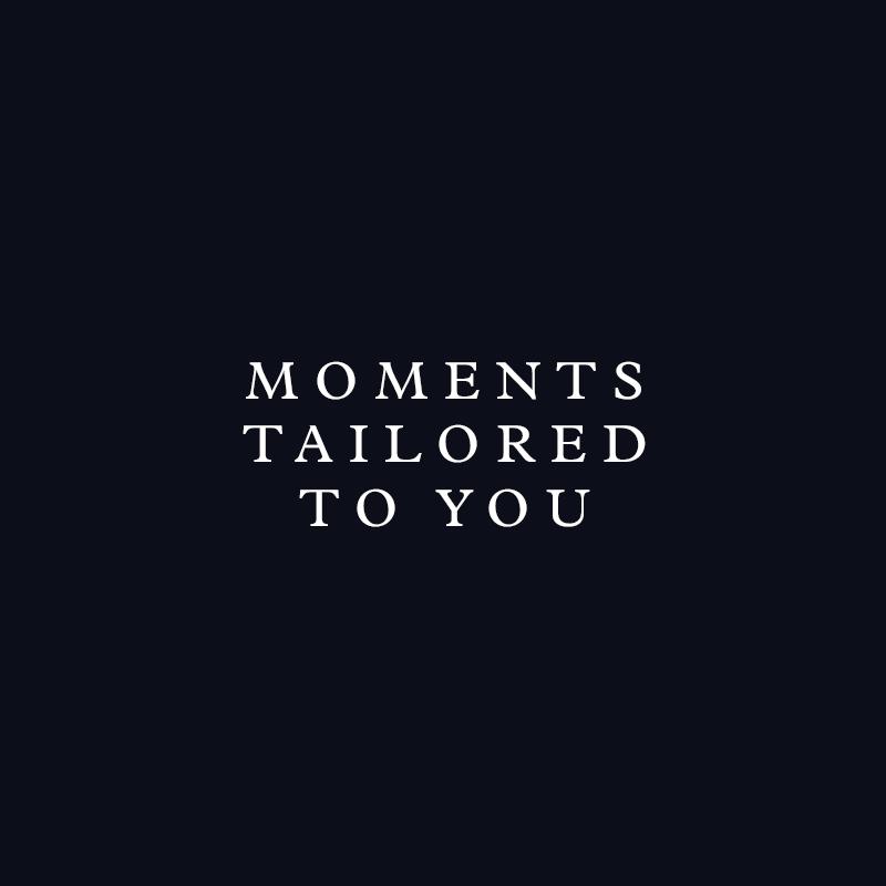 Momentos à sua medida