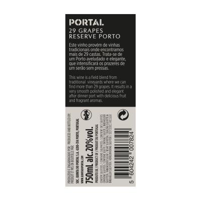 Portal 29 Grapes Reserve Ruby Port