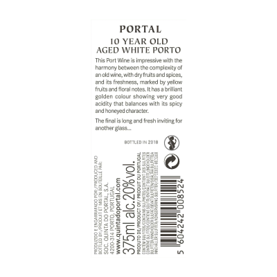 Portal 10 Year Old Aged White Port