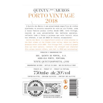 Quinta dos Muros Vintage Port 2018
