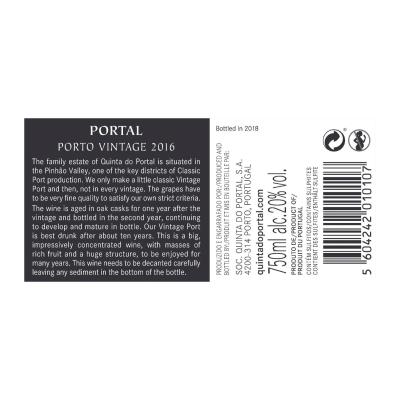 Portal Vintage Port 2016