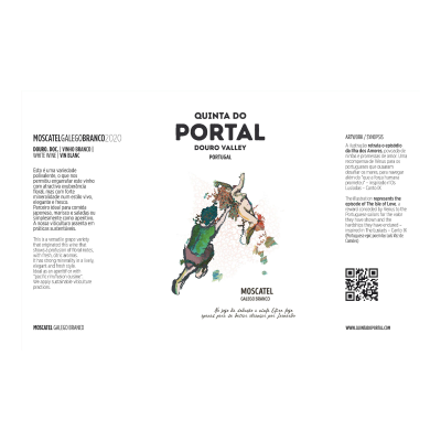 Portal Moscatel Galego Branco 2020