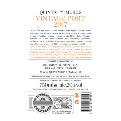 Quinta dos Muros Vintage Port 2017