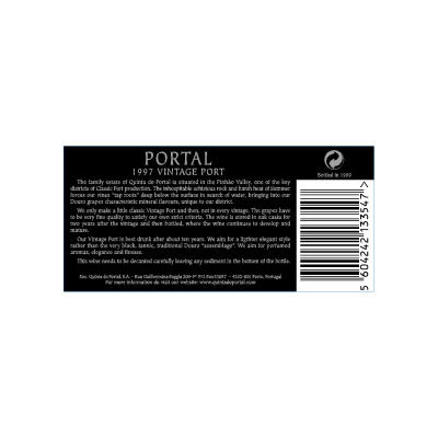 Portal Vintage Port 1997