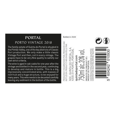 Portal Vintage Port 2018
