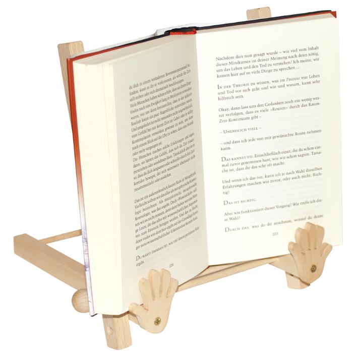 Suporte para livros [madeira]