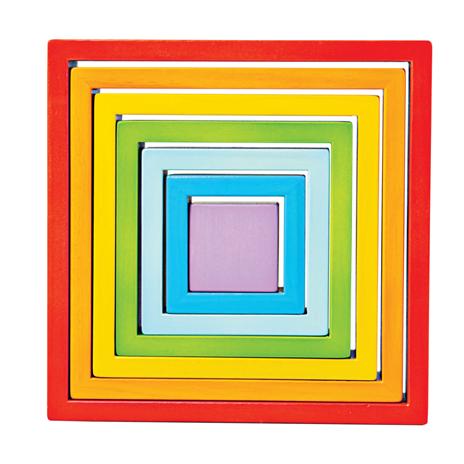 Quadrados coloridos [madeira]