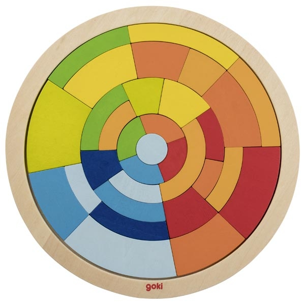 Círculo colorido