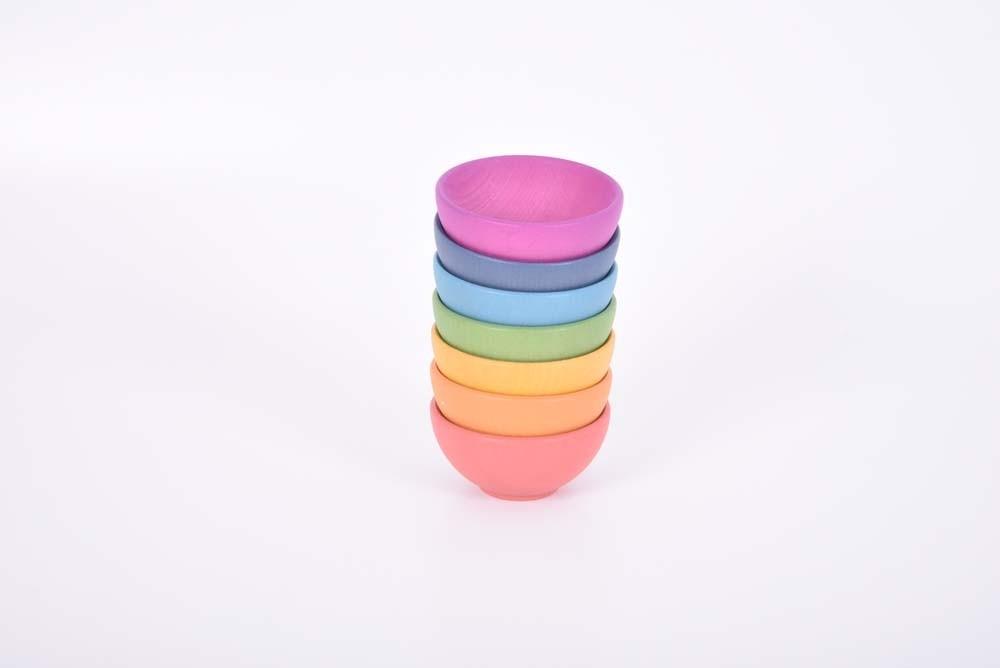 Taças coloridas [madeira]
