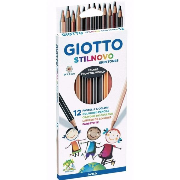 Lápis de cor Skin Tones [12 cores]