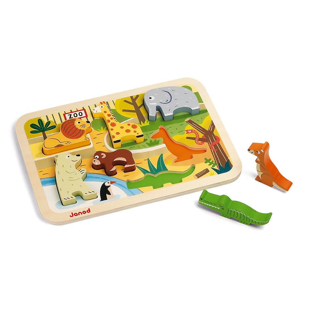 """Puzzle """"O Zoo"""" [madeira]"""