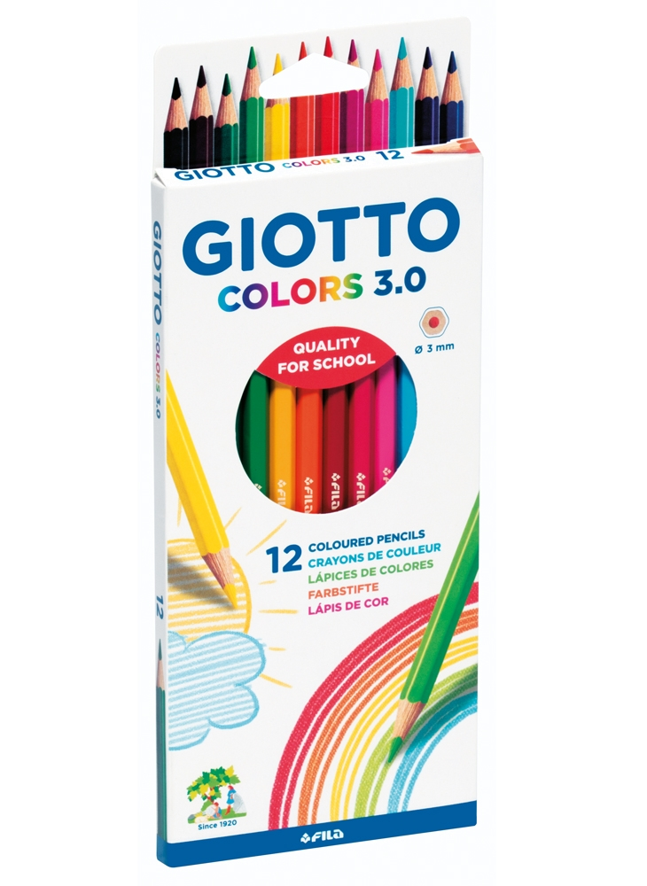 Lápis Colors 3.0 [12 cores]