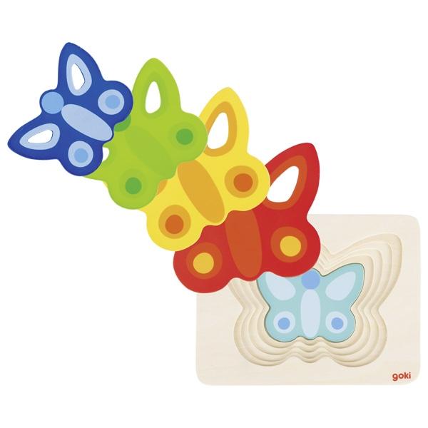 Borboleta [puzzle em níveis]