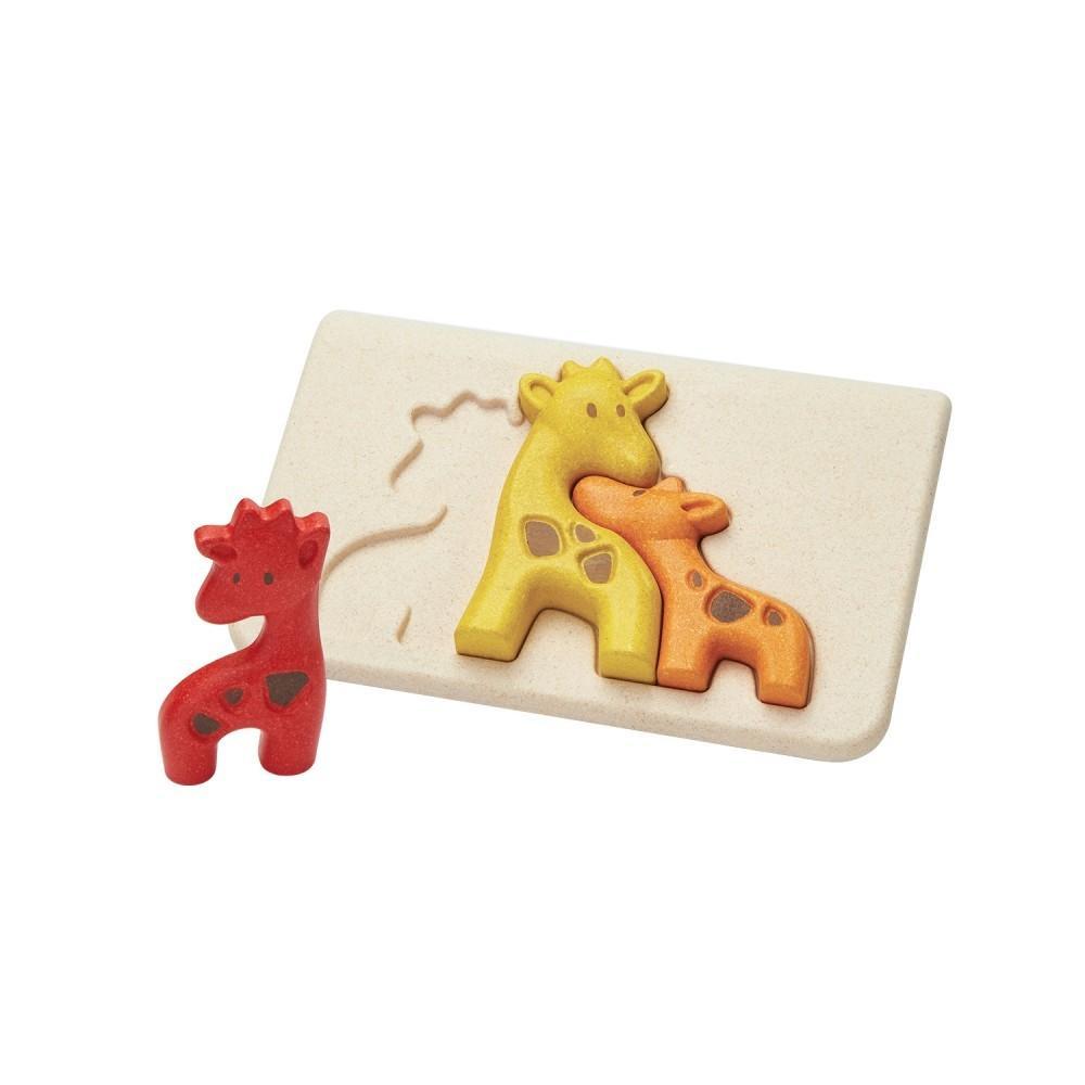 Girafa - primeiro puzzle [em madeira]