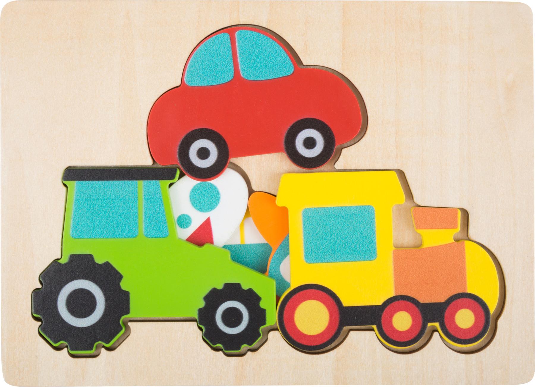 Veículos [puzzle em níveis]