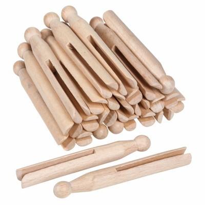 Molas de madeira [25 unidades]